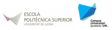 Universitat de Lleida - Escola Politècnica Superior - Campus Igualada - UdL