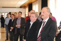 4rt Dinar networking TICAnoia (2011).  amb el Sr. Sergi Marcén (Director TIC.cat. Generalitat de Catalunya). Sr. Jordi Aimamí, alcalde d'Igualada.