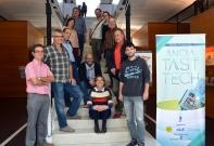 Equip organitzador de l'Anoia Tast-Tech 2016 (Imatge: Jaume Catarineu)