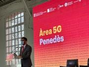 Conseller Jordi Puigneró - Posada en marxa de l'Àrea 5G Penedès - Foto: Pep Solé