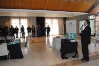 4rt Dinar networking TICAnoia (2011) amb el Sr. Sergi Marcén (Director TIC.cat. Generalitat de Catalunya)
