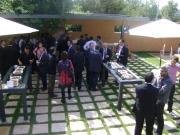 2n Dinar networking TICAnoia (2009) amb el Sr. Ernest Benach (President del Parlament de Catalunya)
