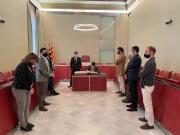 Signatura Llibre d'Honor Ajuntament d'Igualada - Sr. Jordi Puigneró - Foto: Pep Solé