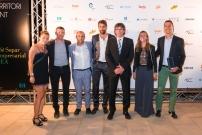 Equip de Cardiosos Global Protection, Premi TICAnoia 2016 per l'App Cardiocity112 amb el MH President de la Generalitat Carles Puigdemont - (foto: Josep Balcells - 2016)