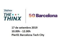 Jornada: Visita The Thinx   5G Barcelona i SINERGIA