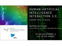Seminaris TIDIC: Human-Centered Artificial Interaction 3.0