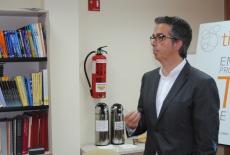 Dr. Enric Macarulla al XXè Cafè digital de TICAnoia