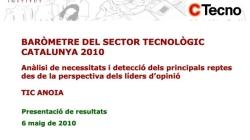 Baròmetre del sector tecnològic. Catalunya 2010