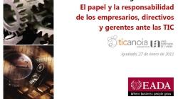 Els SSII a les Organitzacions (Ramon Costa - EADA)