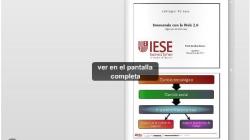 L'impacte del web 2.0 a les empreses amb Sandra Sieber (IESE)