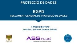 RGPD: La nova llei de protecció de dades