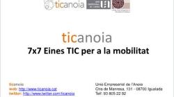 7x7 Eines TIC per a la mobilitat