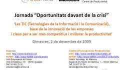 Les TIC, base de la innovació de les empreses