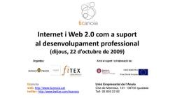 Internet i Web 2.0 com a suport al desenvolupament professional