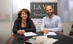 TICAnoia i La Veu de l'Anoia signen un acord de col·laboració