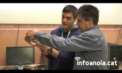 Alumnes igualadins participen en un projecte de robòtica promogut per l'Agència Espacial Europea