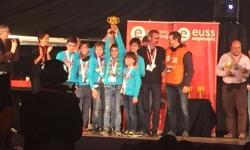 L'equip INFINITE LEGO d'Igualada guanya el trofeu de robòtica FLL Barcelona EUSS al ''Millor Comportament del Robot''