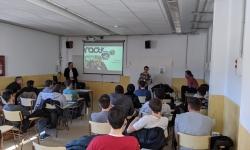 L'empresa igualadina Practics es presenta a l'alumnat d'Informàtica