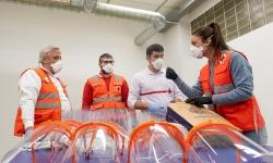 El Projecte Malla en que participa TICAnoia entrega més de 300 elements de protecció i recapta prop de 6.000€ en la primera setmana de funcionament