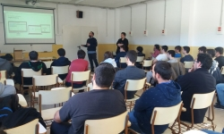 L'empresa igualadina Trilogi es presenta a l'alumnat d'Informàtica