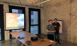 L'Adoberia Bella va ser la seu d'un taller sobre la nova tecnologia 5G que properament tindrem als nostres mòbils.