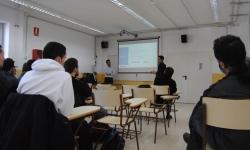 Engisoft explica als estudiants anoiencs les solucions tecnològiques per a la gestió de centres turístics