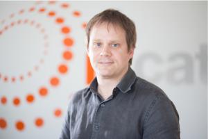 Daniel Camps, responsable de l'àrea de comunicacions sense fils de la Fundació i2CAT