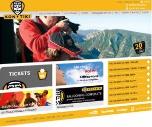 Portada website de Globus Kon-Tiki