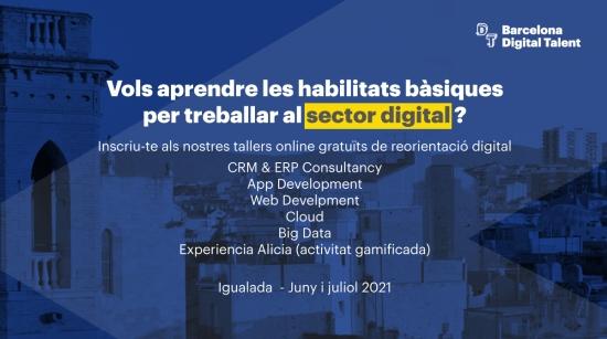Tallers Barcelona Digital Talent Igualada