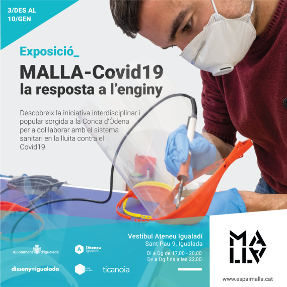 Exposició MALLA-Covid19