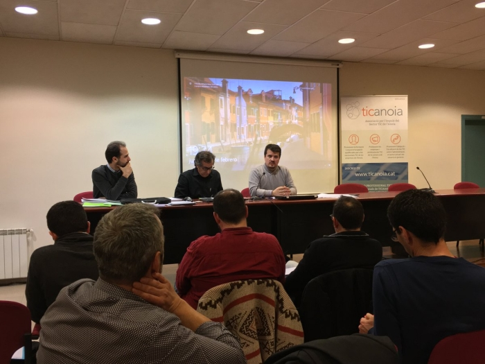 Jaume Catarineu, reelegit president de TICAnoia