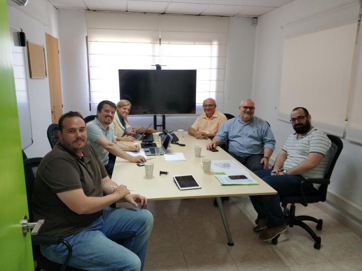 Trobada entre Iguana i i2CAT convocada per TIC Anoia i Fundació Mobile World Capital Barcelona (MWC) amb l'objectiu de promoure Igualada com a seu de proves pilot en la tecnologia 5G