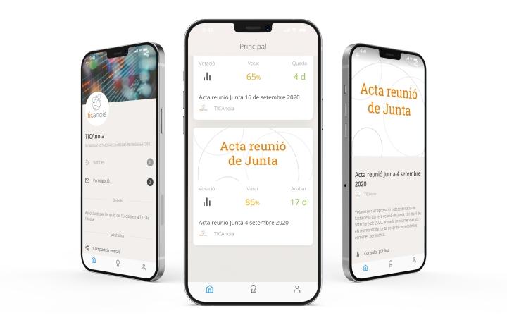 TICAnoia en Vocdoni App