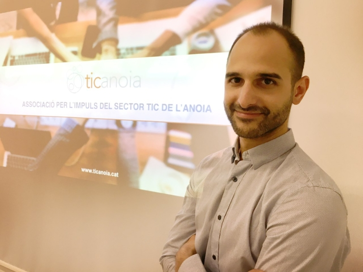 Jordi Solà, president de TICAnoia